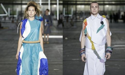 2016春夏[Gerrit Rietveld Academie]时装发布会