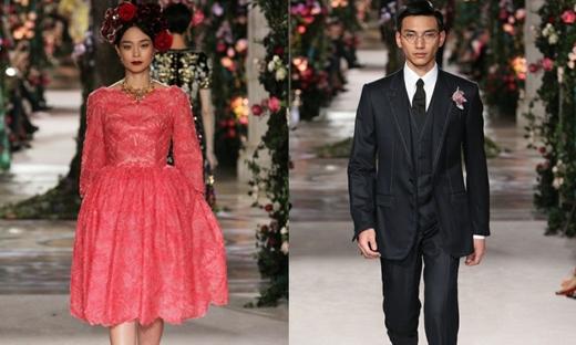 2017春夏高级定制[Dolce &Gabbana Alta Moda]东京时装发布会