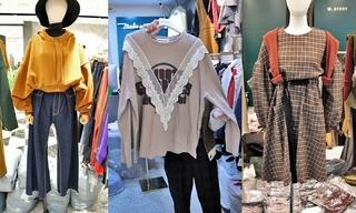 蕾絲|格紋|衛衣:韓國東大門初秋零售分析