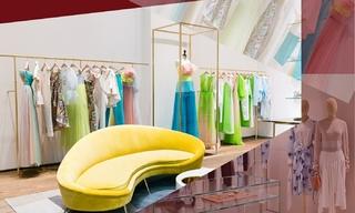 Delpozo&Loewe - 在扩建厚的迪拜购物中心开设新店