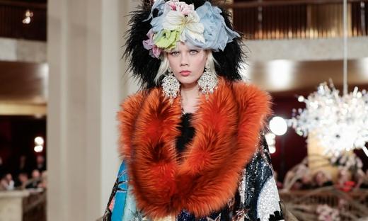2018春夏高级定制[Dolce & Gabbana]纽约时装发布会