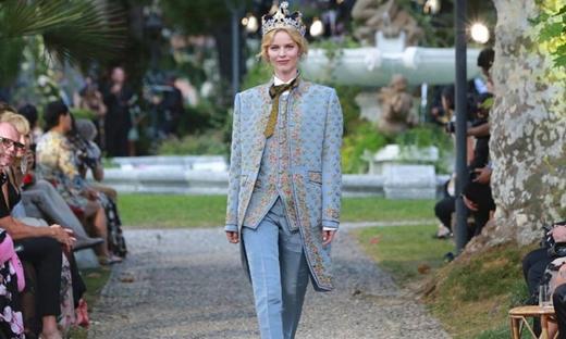 2018秋冬高級定制[Dolce & Gabbana]科莫時裝發布會