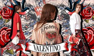 Red Valentino 2019春夏——溫柔與力量并存