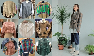 【韩国东大门】高领|毛衣外套|绗缝羽绒服