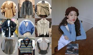 【韩国东大门】套装|呢子大衣|字母点缀
