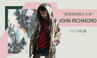 John Richmond-爱摇滚的粉红女孩(2019春夏)