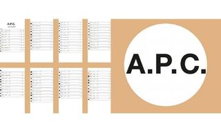 A.P.C. - 2020春夏订货会(6.21) - 2020春夏订货会