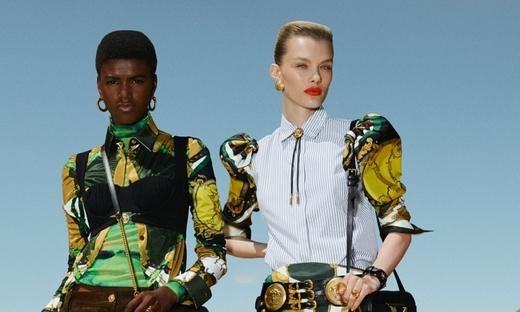2020春游[Versace]米兰时装发布会