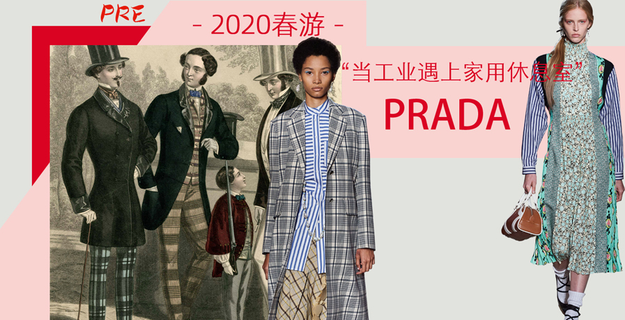 Prada - 當工業遇上家用休息室(2020春游 預售款)