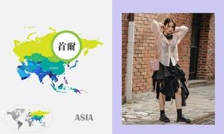 七月韓國時尚街拍(二)