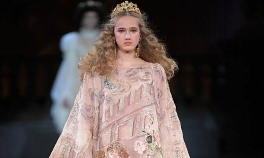 2020秋冬高级定制[Dolce & Gabbana]米兰时装发布会