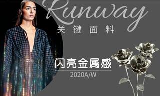 2020/21秋冬面料:闪亮金属感