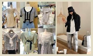 【韓國東大門】蕾絲|泡泡袖|針織