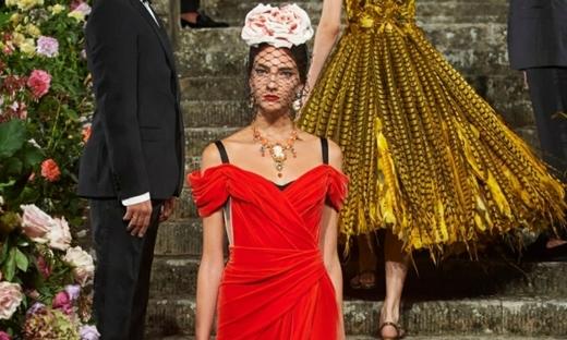2020秋冬高级定制[Dolce & Gabbana]佛罗伦萨时装发布会