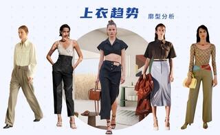 2022春游廓型:上衣趨勢