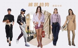 2022春夏廓型:褲裝趨勢