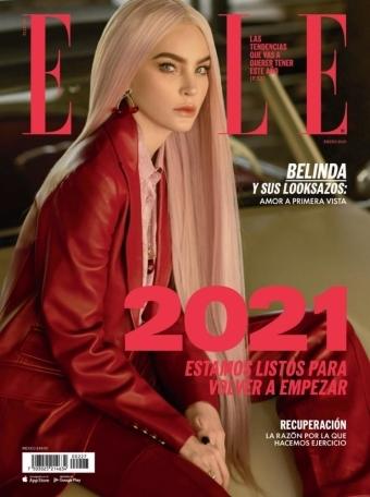 Elle 墨西哥 2021年1月
