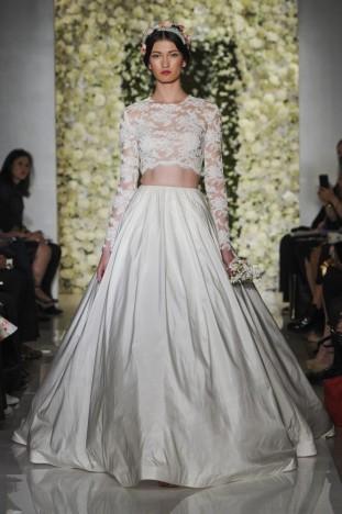 2015秋冬婚紗[Reem Acra]紐約時裝發布會